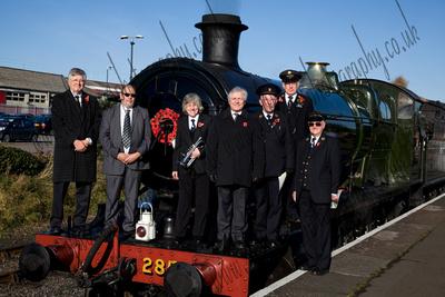 Steam Loco Remembrance Service Photograph