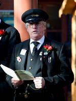 The Remembrance Service held on Remembrance Sunday