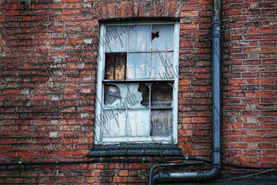Photograph of a Window in Leicester