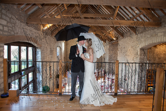 wedding photography at Priston Mill near Bath, Bride and Groom