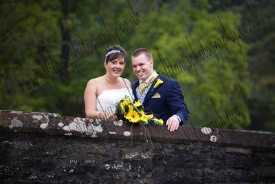the Swan, Newby Bridge, Cumbria wedding photograph