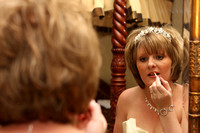 Putting on the Make-up for the Wedding - wedding Photographer Bristol and Leicestershire