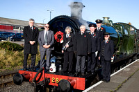 Severn Valley Railway Remembrance Service