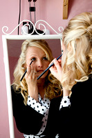 Make-up Getting Ready For The Wedding - wedding Photographer Bristol and Leicestershire
