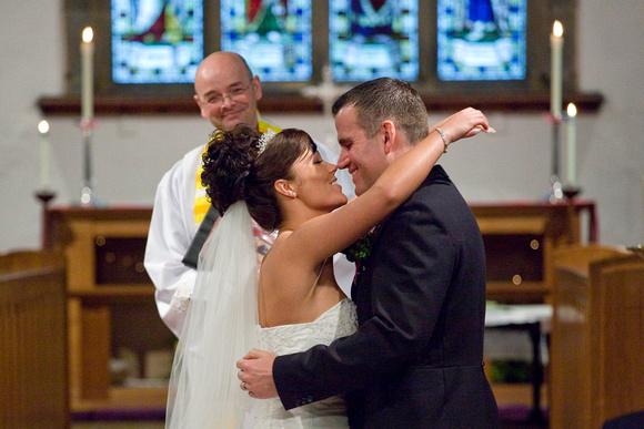 Nikki & Ian's Wedding Photogaphs Near Warwickshire