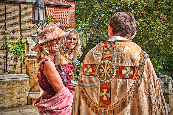 HDR Sketch Wedding At The Roman Catholic Ealing Abbey