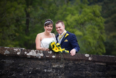 the Swan, Newby Bridge, Cumbria wedding photograph