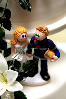 Bespoke Wedding Made Cake Toppers