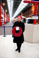 Stephanie Atkinson Network Rail Marylebone station remembrance